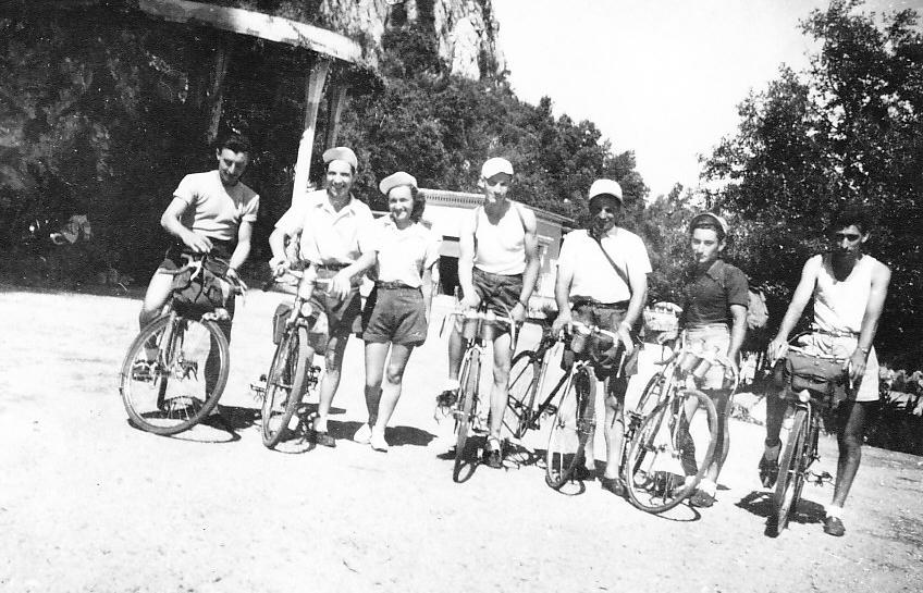 Grotte des Demoiselles 1950